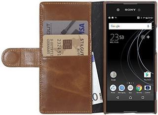 Stilgut Talis Walletcase Con Ranuras Para Sony Xperia Xa1 Fu