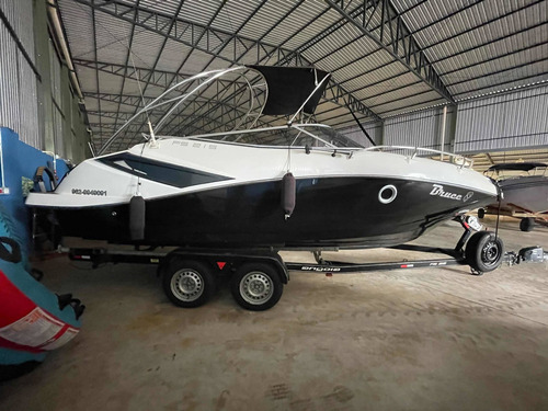 Imagem 1 de 12 de Lancha Fs Yachts 215 Cabinada - Ñ Focker Ventura Triton Nx