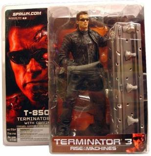 Terminator 3 T 850, Con Ataud - Mcfarlane Toys