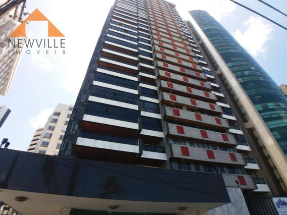 Apartamento Com 4 Quartos Para Alugar, 455 M² Por R$ 12.955/mês - Boa Viagem - Recife/pe - Ap0211