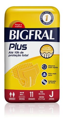 Bigfral Plus Normal Tamanho Juvenil 11 Unidades