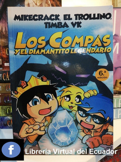 Libro Los Compas Y El Diamantito Legendario En Oferta