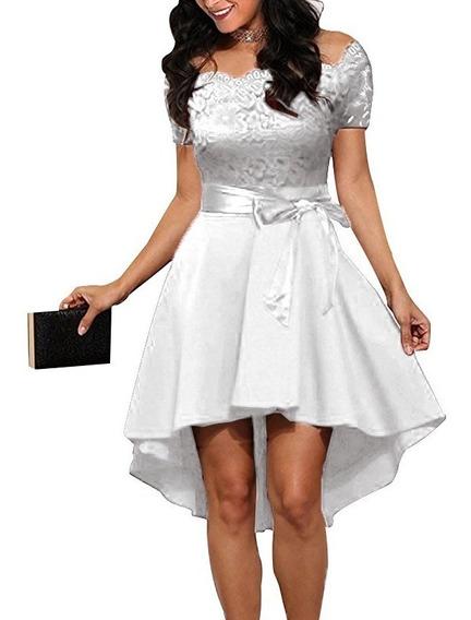 Vestido Fiesta Oficina Importado Modelo Alice Qilaixing