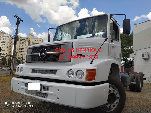 Mb 1620 Ano 2011 Diferencial Rockwell Com Baú Ou No Chassis