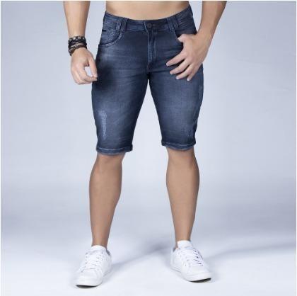 Bermuda Masculina Skinny Jeans Original Pit Bull Ref. 31554