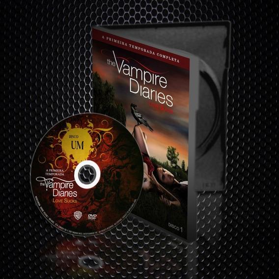 Dvd Box The Vampire Diaries Coleção Completa (1ª À 8ª T)
