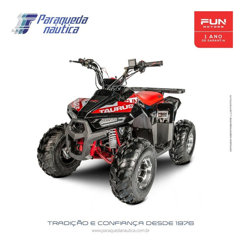Quadriciclo Atv Fun Motors Taurus 110