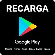 Vale-presente Google Play R$90 Reais