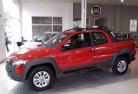 Fiat Strada Adventure, Working Okm! Con Tu Usado Y Cuotas!