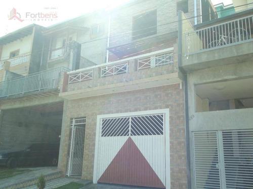 Sobrado Com 1 Dormitório À Venda, 180 M² Por R$ 350.000,00 - Real Park - Caieiras/sp - So0154