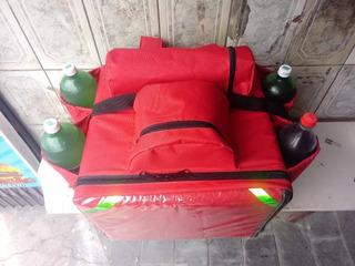 Mochilas Para Pizzas, Delivery Motoboy Entregas Ya