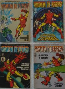 Homem De Ferro Abril 1988 Mine-serie 4 Hq Gibi Frete Grátis