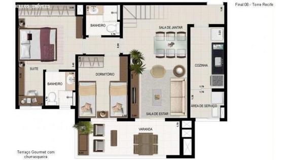 Apartamento Para Venda Em Itanhaém, Centro, 3 Dormitórios, 1 Suíte, 2 Banheiros, 2 Vagas - 149