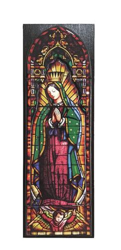 Imagen 1 de 3 de Hermoso Cuadro De La Virgen Guadalupe 11.5 X 34