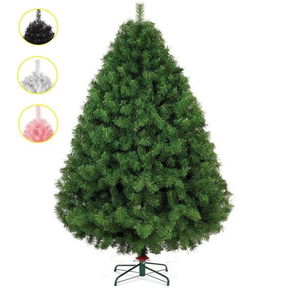 Arbol Pino Navidad Naviplastic Sierra 2.5 Mts Blanco Colores