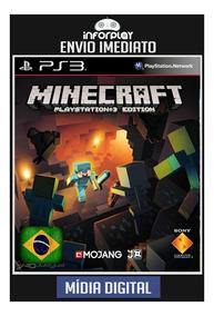Minecraft Edition Português Ps3 Psn Envio Imediato