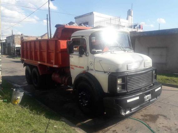 Camion Volcador Mercedes-benz 1114 Balancin Motor 1620