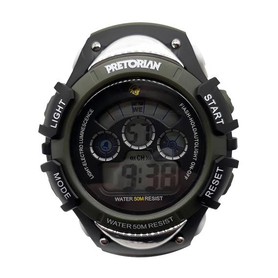 Relógio Pretorian Control Military Green ( Wprt-01-03)