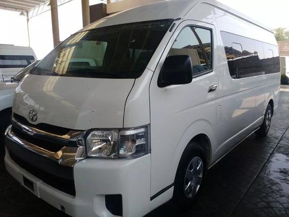 Toyota Hiace 2015 Por Renovacion