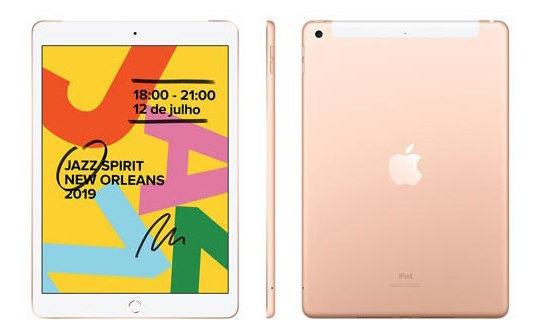 iPad Dourado 10,2 , Wi-fi, 128 Gb A10 - Mw6g2bz/a