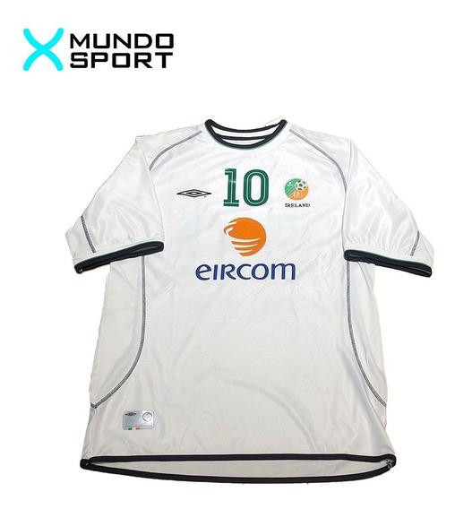 Camiseta De Irlanda Suplente Umbro Talle Xl 10 Keane