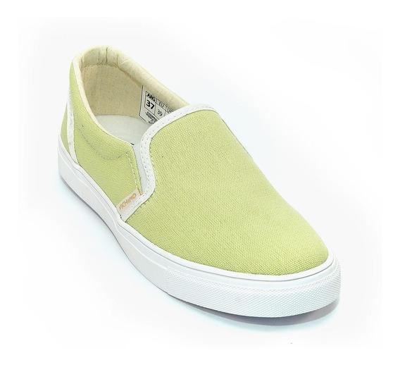 Zapatillas Pancha Verde Lima | Vichino