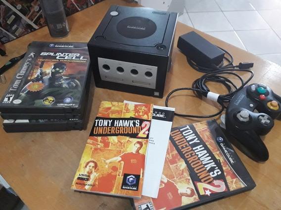 Game Cube Com 5 Jogos Originais