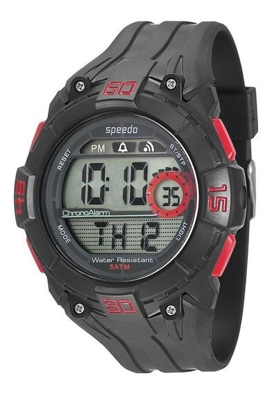 Relógio Speedo Sport Life Cronômetro Alarme 81074g0egnp1
