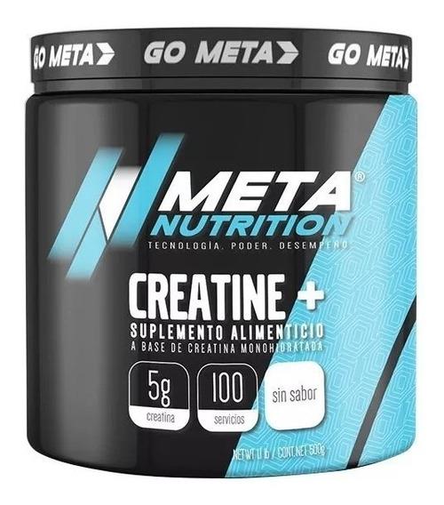 Creatina Meta Nutrition 500 Gr 100 Porciones