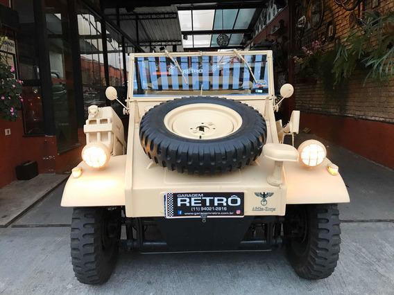 Vw Kubelwagen Type 82 Réplica Jeep Militar Alemão