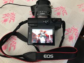 Câmera Canon Miroless M100 + Cartão 32 + Tripé/mon + Bolsa