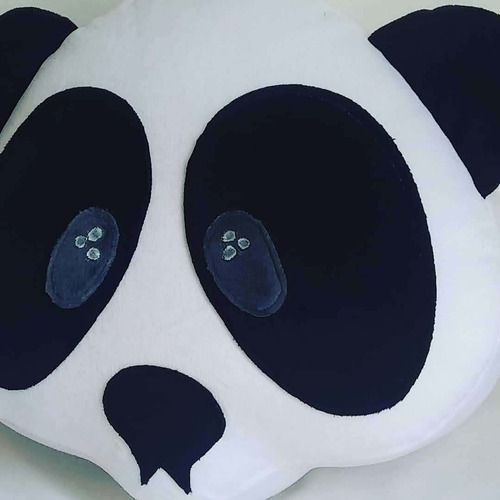Emoji Oso Panda Cojín Panda