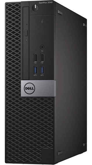 Cpu Compac Dell Optiplex 3040 Core I5 6ª 4gb 500hd Semi-nova