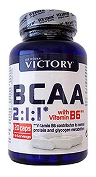 Bcaa - Aminoacidos Recuperacion 120 Capsulas Victory