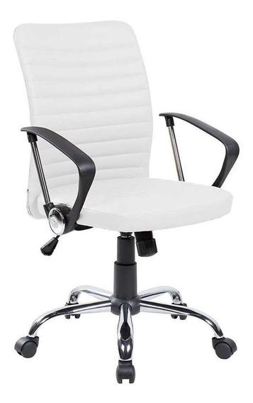 Cadeira De Escritório Diretor Oslo Branca