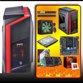 Pc Cpu Gamer Fx 6300 + Memória 8 Gb + Gtx 550ti + Hd 1tb