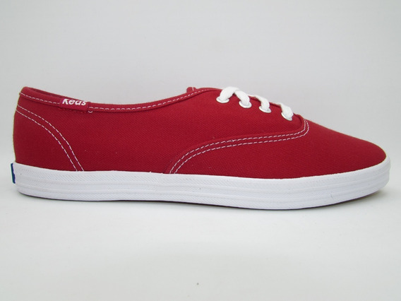 Tenis Keds Wf31300 Champion Red Canvas Rojo