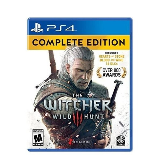 The Witcher 3 Complete Edition - Ps4 - Mídia Física
