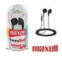 Fone De Ouvido Maxell Stereo Buds Eb-95 Cor Preta