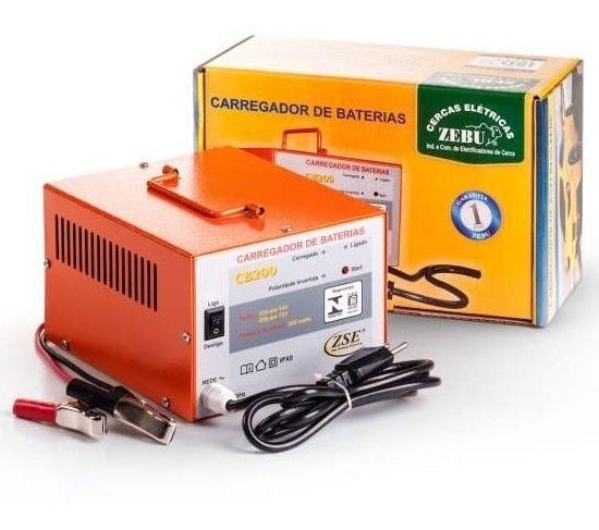 Carregador De Bateria 20 A Zebu Automotiva Cb200 Carro Moto