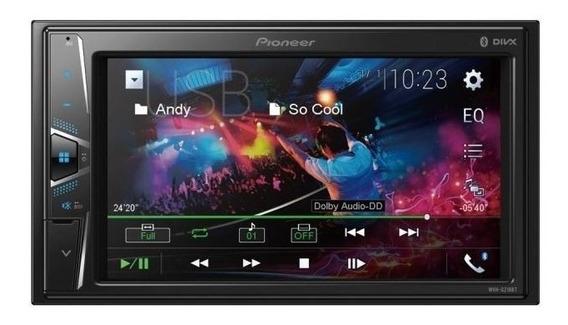 Multimídia Pioneer Mvh-g218bt Lcd 6,2 Bluetooth Usb Auxiliar