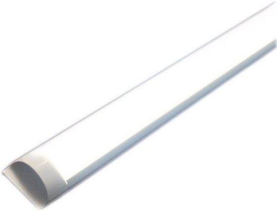 Tubo Lampara Led 40w 2800 Lm 1.24 Mts Ultradelgada
