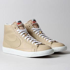 Tenis Nike Blazer Mid Prm Bege - 429988202 - Garantia Novo