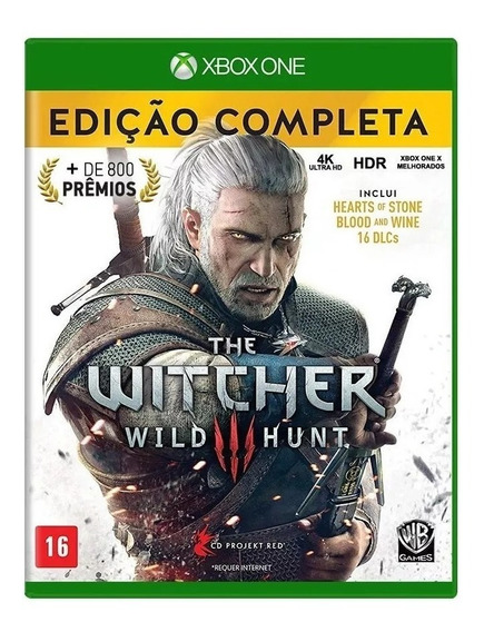 The Witcher 3: Wild Hunt Edição Completa Xbox One Nacional Lacrado - Rj