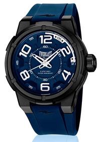 Relógio Everlast Masculino Torque E692 Caixa Abs E Pulseira