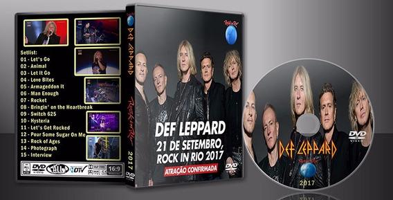 Dvd Def Leppard - Rock In Rio 2017