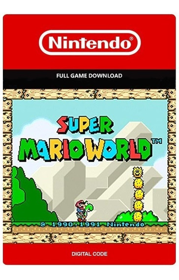 Super Mario World - New Nintendo 3ds - Digital Eshop