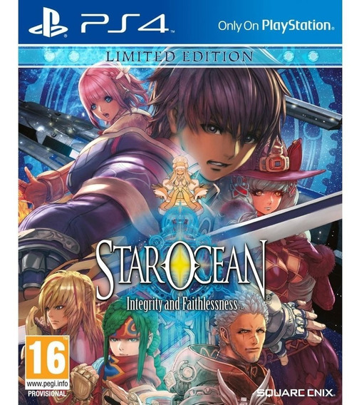 Star Ocean V Integrity And Faithlessness Limited Edition Ps4