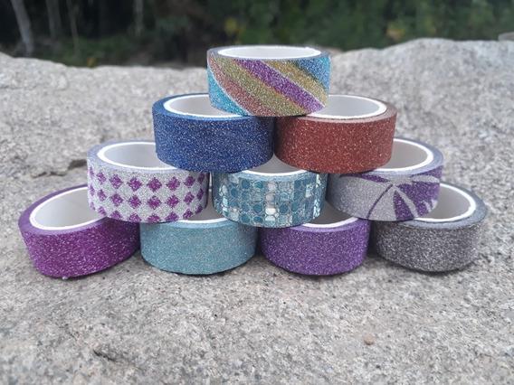 Washi Tape Kit Com 10 Peças