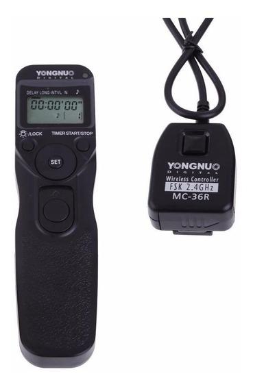 Disparador Yongnuo Mc-36r C1 Sem Fio Timer Lapse P/ Canon